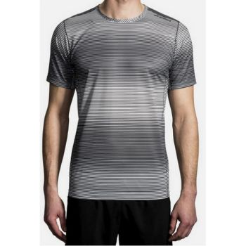 BROOKS GHOST SHORT SLEEVE gris